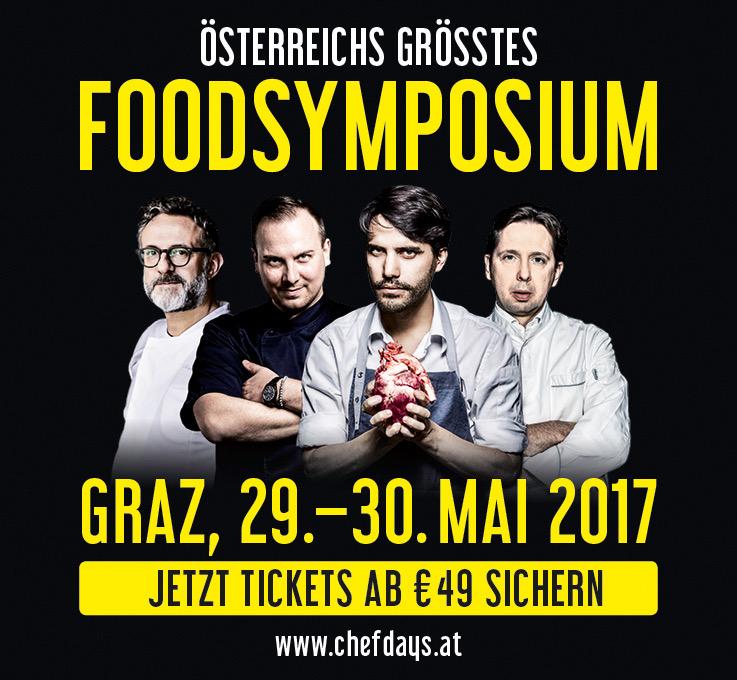Das Foodsymposium Chefdays